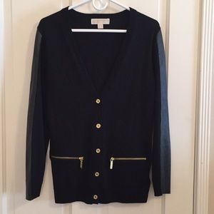 Michael Kors black cardigan